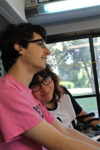 That's me with my boyfriend, Matt.