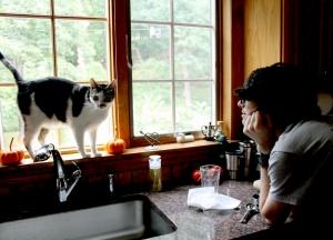 Cat and the Matt.