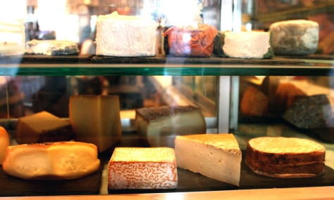 Look at this magnificent cheese display.