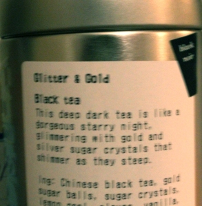 One of my favorite teas, actually.
