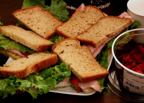 ...gluten-free sandwiches, doubly so.